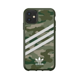 アディダス adidas iPhone 11 6.1インチ OR Moulded Case CAMO SAMBA WOMAN green 36374