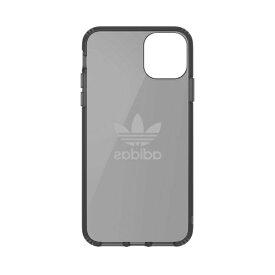 アディダス adidas iPhone 11 Pro Max 6.5インチ OR Protective Clear Case Big Logo black 36410