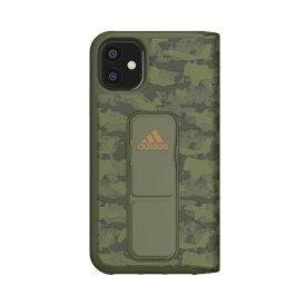 アディダス adidas iPhone 11 6.1インチ SP Folio grip case CAMO Tech olive 36435