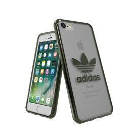 アディダス adidas iPhone 7/8 OR-clear case - Military Green logo 37381