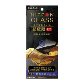 NIPPON GLASS iPhone 11 Pro Max 6.5インチ 超極限EX 8倍強い全面硝子BL低減BK TY-IP19L-GM3-DXBCCBK