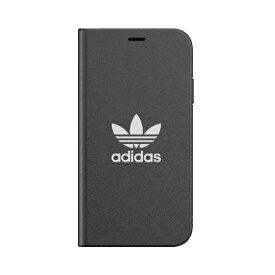 アディダス adidas iPhone 11 6.1インチ OR Booklet Case TREFOIL black/white 36284