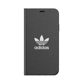 アディダス adidas iPhone 11 Pro Max 6.5インチ OR Booklet Case TREFOIL black/white 36285