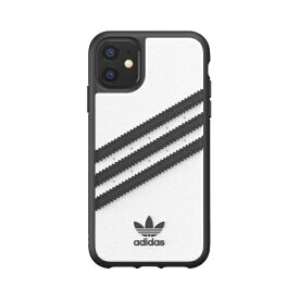 アディダス adidas iPhone 11 6.1インチ OR Moulded Case SAMBA white/black 36291