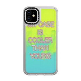 CASETIFY ケースティファイ iPhone 11 6.1インチ MY CASE IS COOLER THAN YOURS CTF-5137279-16000104