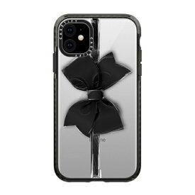 CASETIFY ケースティファイ iPhone 11 6.1インチ Black Bow CTF-3389815-16000089