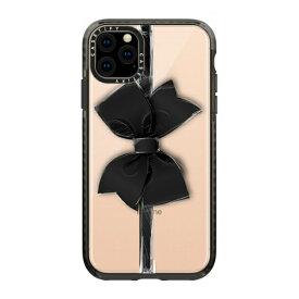 CASETIFY ケースティファイ iPhone 11 Pro Max 6.5インチ Black Bow CTF-3389815-16000092