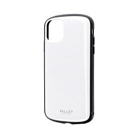 MSソリューションズ iPhone 11 6.1インチ PALLET AIR 耐衝撃ケース ホワイト LP-IM19PLAWH