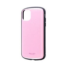 MSソリューションズ iPhone 11 6.1インチ PALLET AIR 耐衝撃ケース ピンク LP-IM19PLAPK