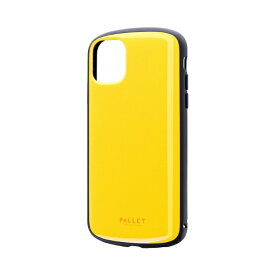 MSソリューションズ iPhone 11 6.1インチ PALLET AIR 耐衝撃ケース イエロー LP-IM19PLAYE