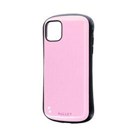 MSソリューションズ iPhone 11 6.1インチ NEW PALLET 耐衝撃ケース ピンク LP-IM19PLPK