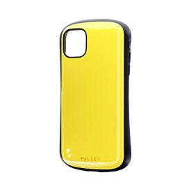 MSソリューションズ iPhone 11 6.1インチ NEW PALLET 耐衝撃ケース イエロー LP-IM19PLYE