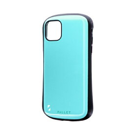 MSソリューションズ iPhone 11 6.1インチ NEW PALLET 耐衝撃ケース ミントグリーン LP-IM19PLGR
