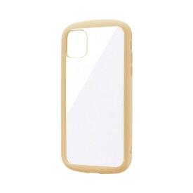MSソリューションズ iPhone 11 6.1インチ PALLET CLEAR 耐衝撃ケース ベージュ LP-IM19PLCBG
