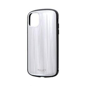 MSソリューションズ iPhone 11 6.1インチ PALLET METAL 耐衝撃ケース ホワイト LP-IM19PLMWH