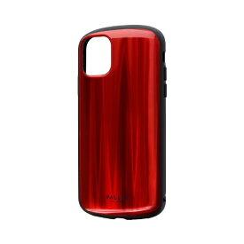 MSソリューションズ iPhone 11 6.1インチ PALLET METAL 耐衝撃ケース レッド LP-IM19PLMRD