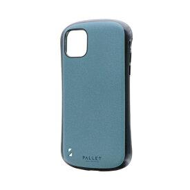 MSソリューションズ iPhone 11 6.1インチ PALLET STEEL 耐衝撃ケース ライトブルー LP-IM19PLSBL