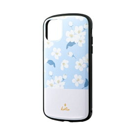 MSソリューションズ iPhone 11 6.1インチ PALLET Katie 耐衝撃ケース フラワーサックス LP-IM19PLKA
