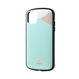 MSソリューションズ iPhone 11 6.1インチ PALLET Katie 耐衝撃ケース パステルミント LP-IM19PLKC