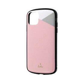 MSソリューションズ iPhone 11 6.1インチ PALLET Katie 耐衝撃ケース パステルピンク LP-IM19PLKD