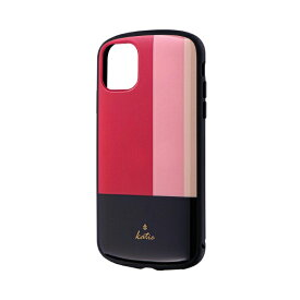 MSソリューションズ iPhone 11 6.1インチ PALLET Katie 耐衝撃ケース トリコロールピンク LP-IM19PLKF