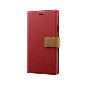 MSソリューションズ iPhone 11 6.1インチ PRIME HOOK 手帳型ケース レッド LP-IM19PRHRD