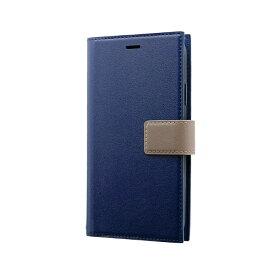 MSソリューションズ iPhone 11 6.1インチ PRIME HOOK 手帳型ケース ネイビー LP-IM19PRHNV