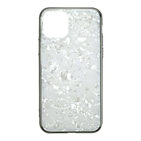 CCCフロンティア CCC FRONTIER iPhone 11 6.1インチ ケース Glass Shell Case white UNI-CSIP19M-0GSWH