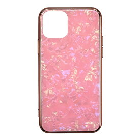 CCCフロンティア CCC FRONTIER iPhone 11 6.1インチ ケース Glass Shell Case pink UNI-CSIP19M-0GSPK