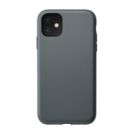 CCCフロンティア CCC FRONTIER iPhone 11 6.1インチ ケース Smooth Touch Hybrid Case blue gray UNI-CSIP19M-1STBG