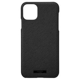 坂本ラヂヲ EUROpassione PU Leather Shell for iPhone 11 Pro Max 6.5インチ BLK CSCEP-IP03BLK