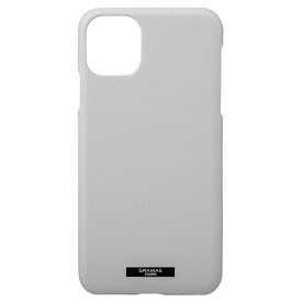 坂本ラヂヲ EUROpassione PU Leather Shell for iPhone 11 Pro Max 6.5インチ GRY CSCEP-IP03GRY