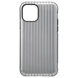 坂本ラヂヲ Rib Hybrid Shell Case for iPhone 11 Pro 5.8インチ GRY CHCRB-IP01GRY