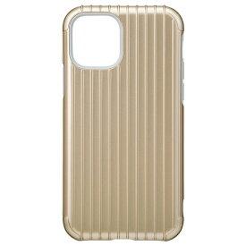 坂本ラヂヲ Rib Hybrid Shell Case for iPhone 11 Pro 5.8インチ GLD CHCRB-IP01GLD