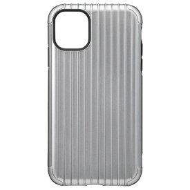 坂本ラヂヲ Rib Hybrid Shell Case for iPhone 11 6.1インチ GRY CHCRB-IP02GRY