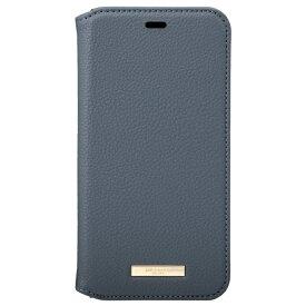 坂本ラヂヲ Shrink PU Leather Book Case for iPhone 11 Pro 5.8インチ NVY CBCLS-IP01NVY