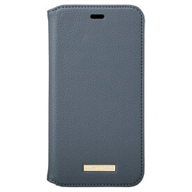 坂本ラヂヲ Shrink PU Leather Book Case for iPhone 11 6.1インチ NVY CBCLS-IP02NVY