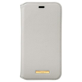 坂本ラヂヲ Shrink PU Leather Book Case for iPhone 11 6.1インチ GRG CBCLS-IP02GRG