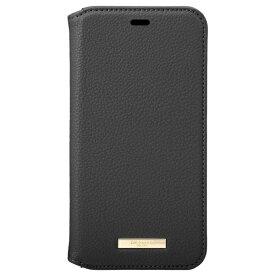 坂本ラヂヲ Shrink PU Leather Book Case for iPhone 11 Pro 5.8インチ BLK CBCLS-IP01BLK