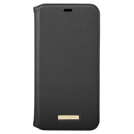 坂本ラヂヲ Shrink PU Leather Book Case for iPhone 11 Pro Max 6.5インチ BLK CBCLS-IP03BLK