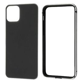 レイアウト rayout iPhone 11 Pro 5.8インチ アルミバンパー+背面パネル(マットブラック)/ブラック RT-P23AB2/B