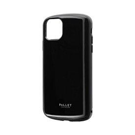 MSソリューションズ iPhone 11 Pro Max 6.5インチ PALLET AIR 耐衝撃ケース ブラック LP-IL19PLABK