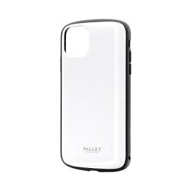 MSソリューションズ iPhone 11 Pro Max 6.5インチ PALLET AIR 耐衝撃ケース ホワイト LP-IL19PLAWH