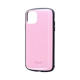 MSソリューションズ iPhone 11 Pro Max 6.5インチ PALLET AIR 耐衝撃ケース ピンク LP-IL19PLAPK