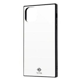レイアウト rayout iPhone 11 Pro Max 6.5インチ 耐衝撃ガラス TETRA/ホワイト RS-P22T2B/W