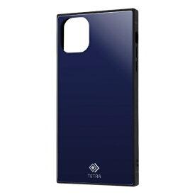 レイアウト rayout iPhone 11 Pro Max 6.5インチ 耐衝撃ガラス TETRA/ダークネイビー RS-P22T2B/DN