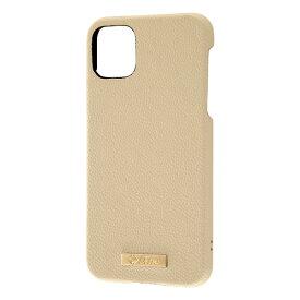 レイアウト rayout iPhone 11 Pro Max 6.5インチ オープンレザー TETRA プレート/ベージュ RT-P22TOL1/BE