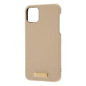 レイアウト rayout iPhone 11 Pro Max 6.5インチ オープンレザー TETRA プレート/モカ RT-P22TOL1/M