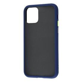 レイアウト rayout iPhone 11 Pro 5.8インチ 耐衝撃マットハイブリッド BABY SKIN/ダークネイビー RT-P23BS1/DN