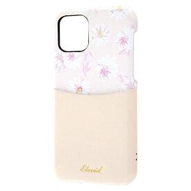 レイアウト rayout iPhone 11 Pro 5.8インチ オープンレザー 花柄 ICカード対応/ベージュ RT-P23EVC3/BE